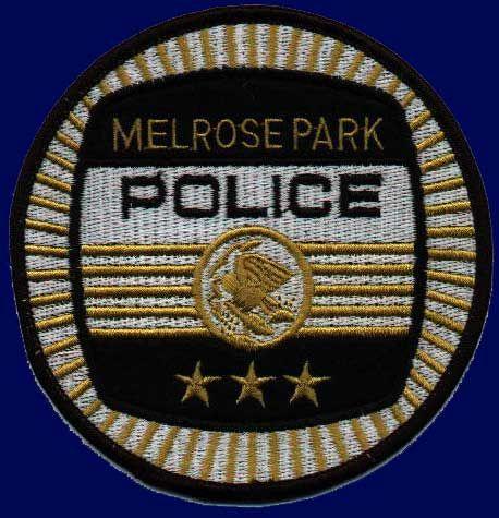 Melrose Park Police Patch