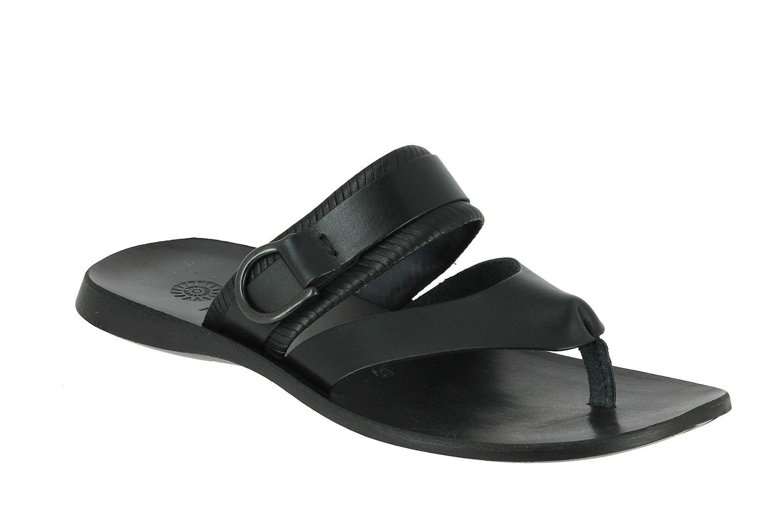Center 51 vous présente le modèle Sandale Zeus 1728 cuir noir à 49,00 € 8e8a0e58700a