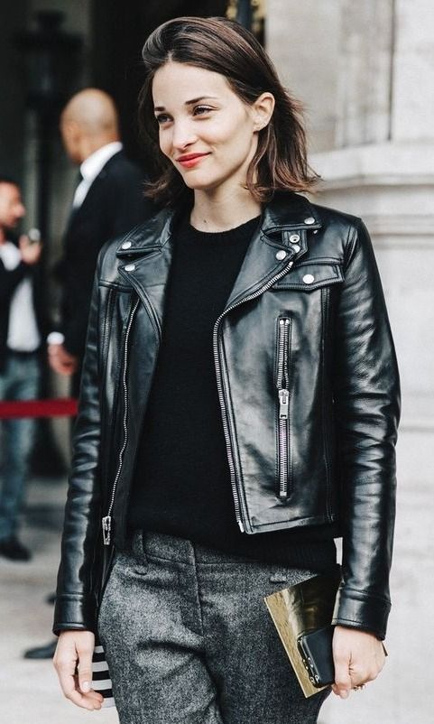 The Best Leather Jackets To Buy Now Paris Fashion Week Street Style Fashion Week Street Style Fashion Week