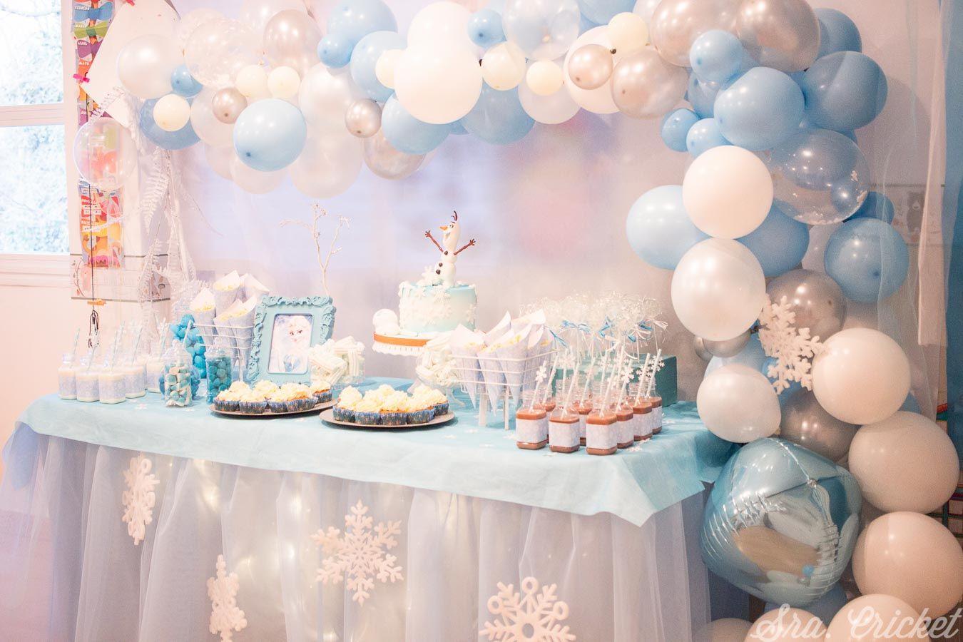 Fiesta Frozen frozen party fiestatematicas