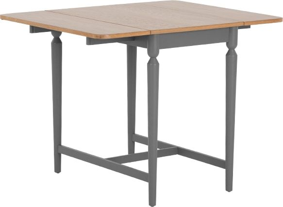 Pherson Gateleg Dining Table Oak And Grey From Made Com Light