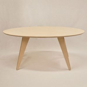 wood table. coffee table. www.thenudedesign.com