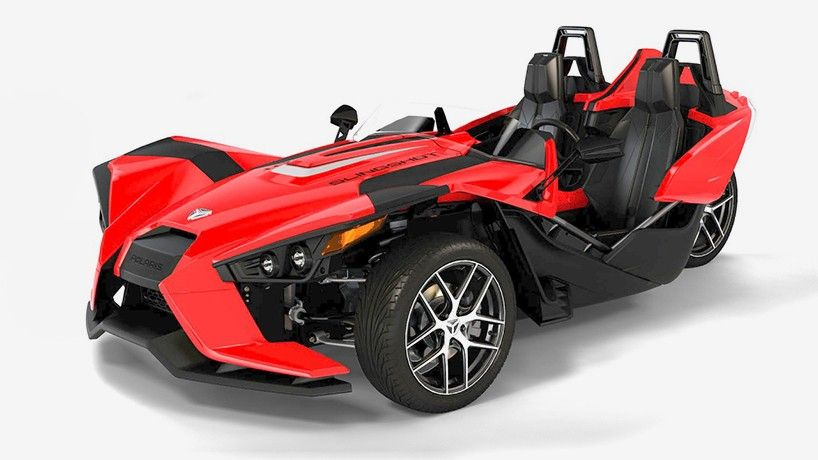 polaris slingshot motorcycle car designboom