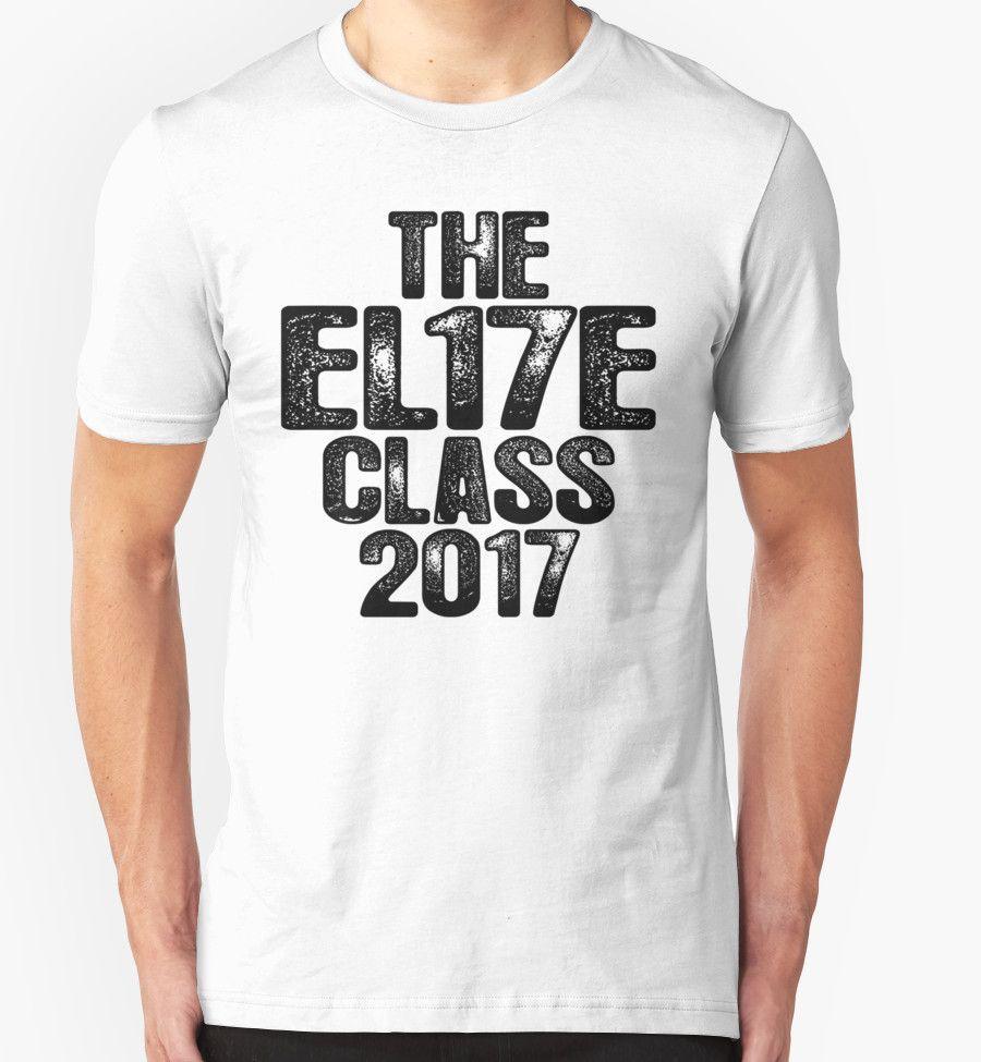 El17e elite class of 2017 shirt senior graduation gift for Class t shirts ideas