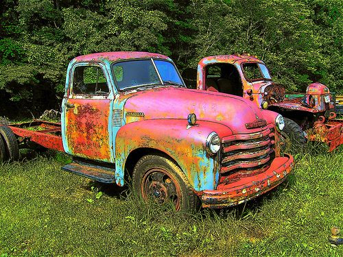 Old+Rusty+Chevy+Truck | Rusty / Forgotten Chevrolet & GMC Trucks + Join Group