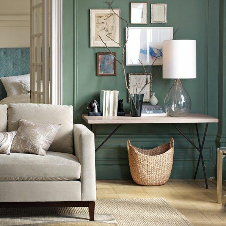 Couleurs automne tendance pour un intérieur élégant Salons and - Peindre Un Mur Interieur
