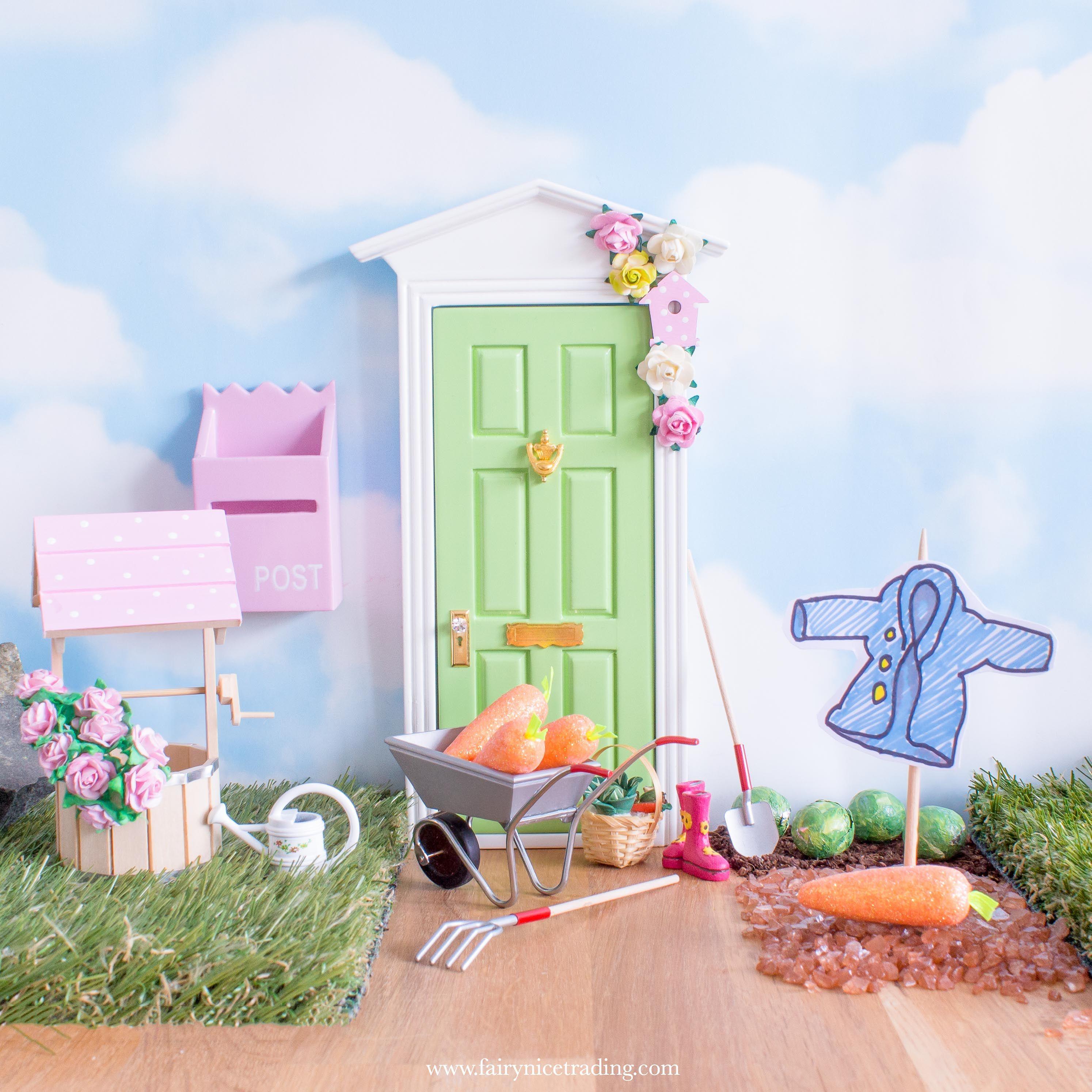 Peter Rabbit Fairy Door Ideas For World Book Day Fairy Doors Fairy Door Accessories Fairy Door