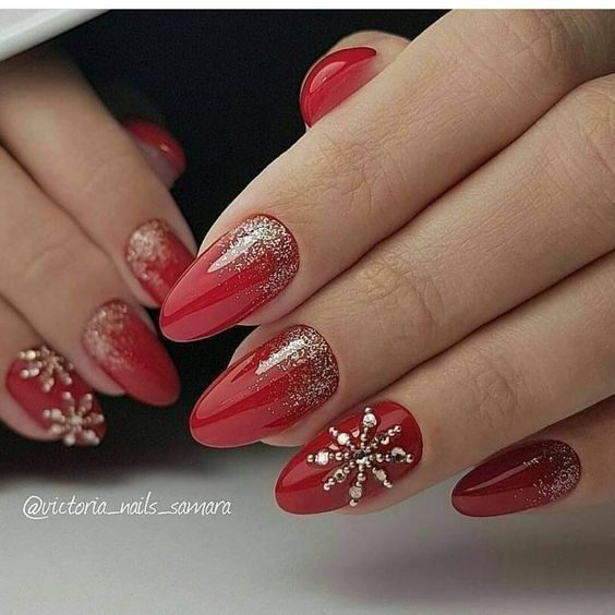 TOP 55 CHRISTMAS NAIL ART DESIGN FOR THE CHRISTMAS PARTY 2019