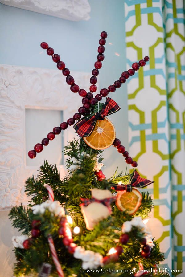 How to Decorate a Kitchen Christmas Tree Christmas tree, Natural