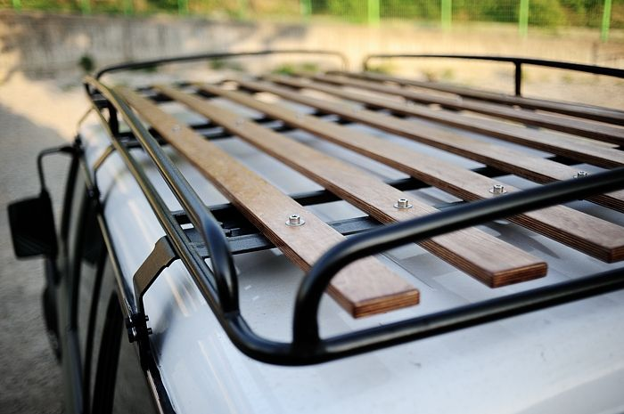 Love The Look Of This Roof Rack Best Style Economical Useful Van Roof Racks Roof Rack Wood Roof