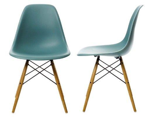 Vitra Sedia A Dondolo Eames Plastic Armchair Rar : Vitra eames plastic side chair dsw side chair