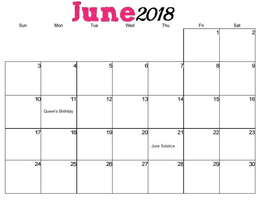 Calendar June To October : Vertical june calendar for australia