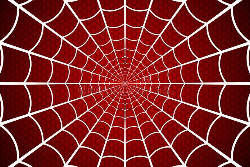 Spider Web Cobweb On Red Background Vector Illustration White Web On A Red Ce Sponsored Red Background Spiderman Images Spiderman Art Red Background