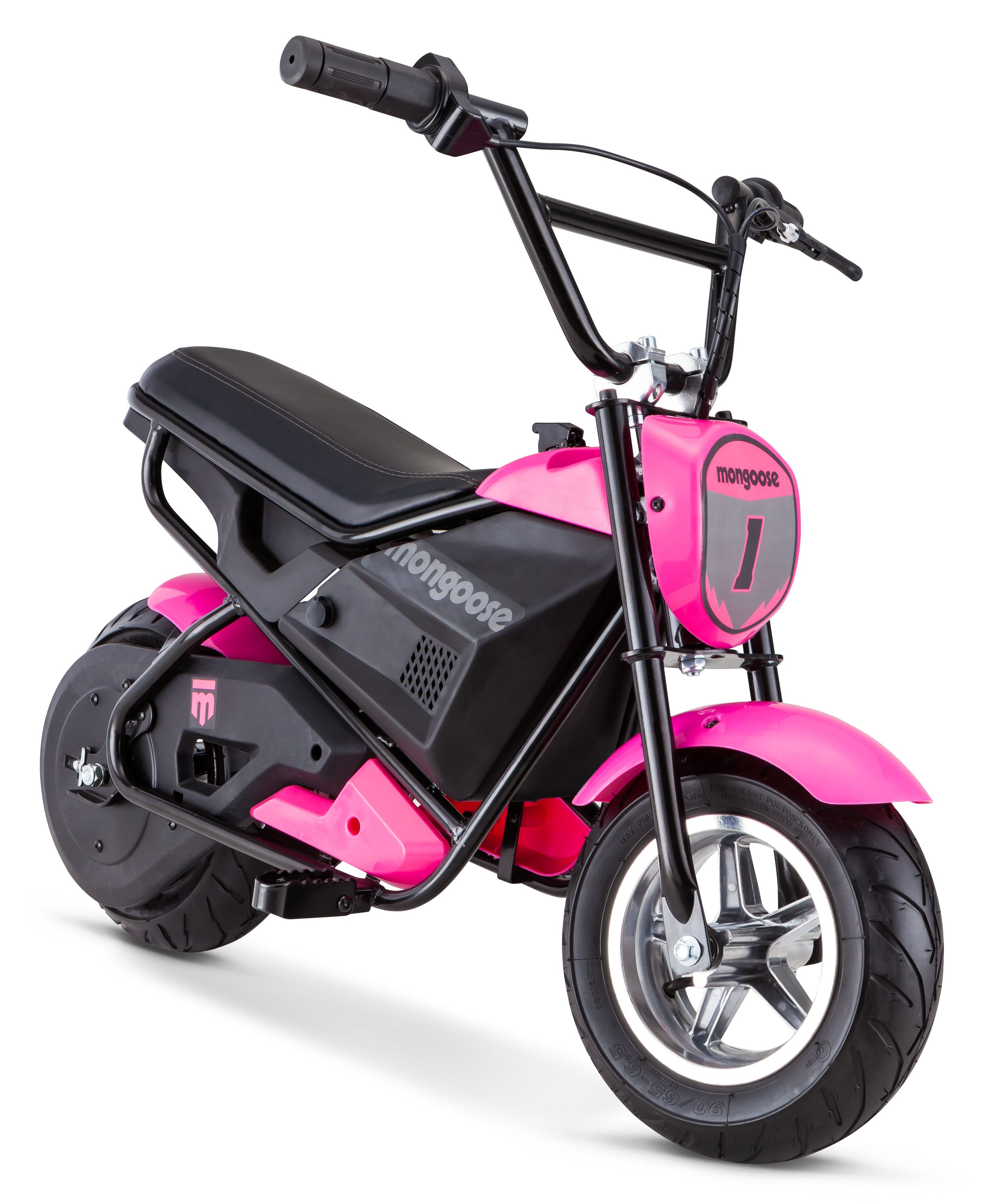 mongoose 24 volt powered mini bike pink hondaelectricscooter electricbikeforkids tvsbike jawabike [ 2830 x 3412 Pixel ]