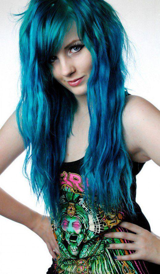 How to Dye Blue Hair   Hair Blue hair Teal hair