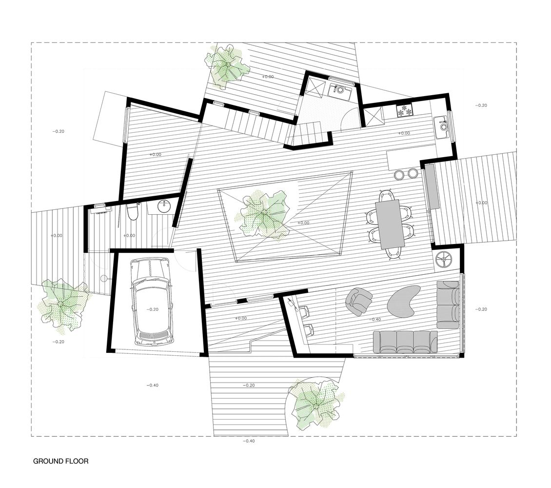 Gallery of prototype house in japan javier mariscal for Prototype house plan
