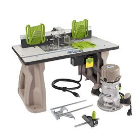 Blue Hawk 2 Hp Fixed Corded Router Wood Working Electric