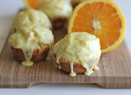 Orange Sour Cream Muffins With Zesty Orange Glaze Recipe Sour Cream Muffins Favorite Recipes