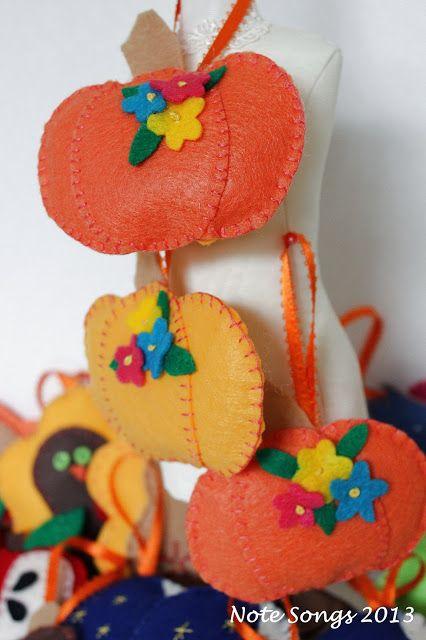#diy #felt #ornaments, a variety to make.So cute!