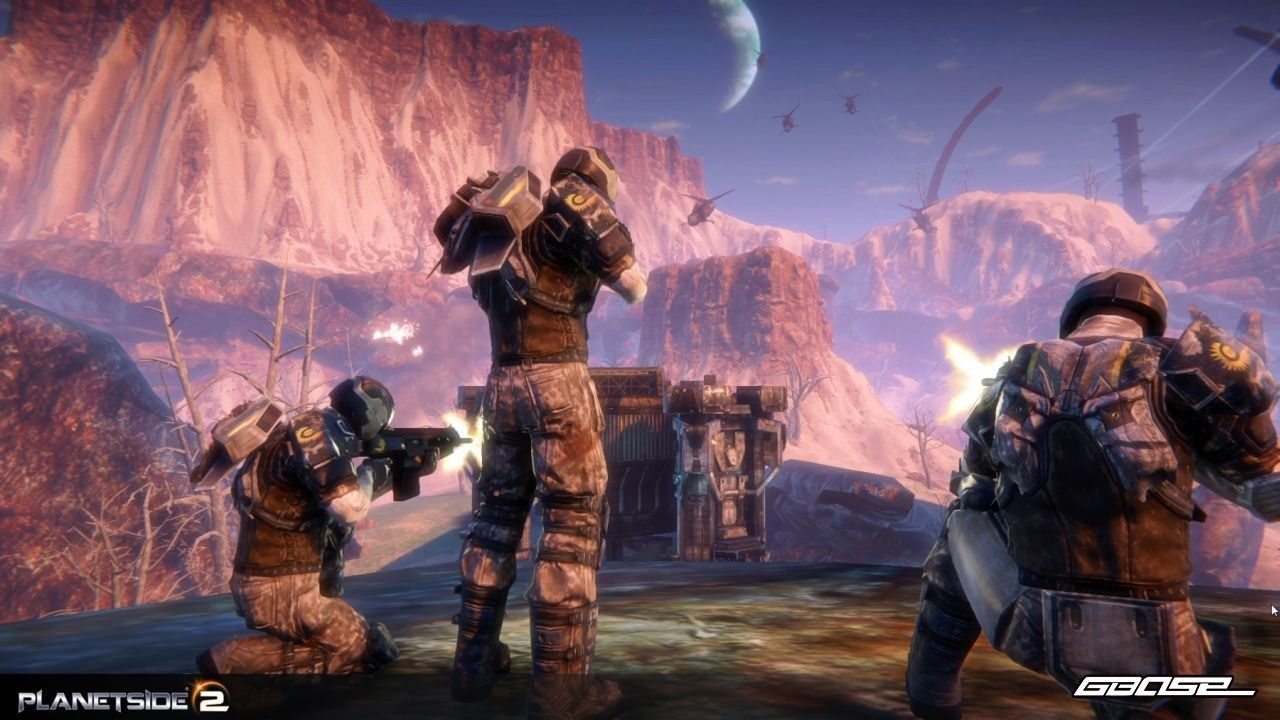 PlanetSide 2 : PC - The scale of this game is simply fascinating. And it looks good to... I hope my pc can run it :)