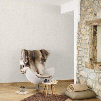 Papier peint intissé Lucia gris Leroy Merlin Deco casa Pinterest
