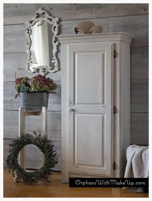 Darling #shabbychic #armoire, #whitepaintedfurniture ...
