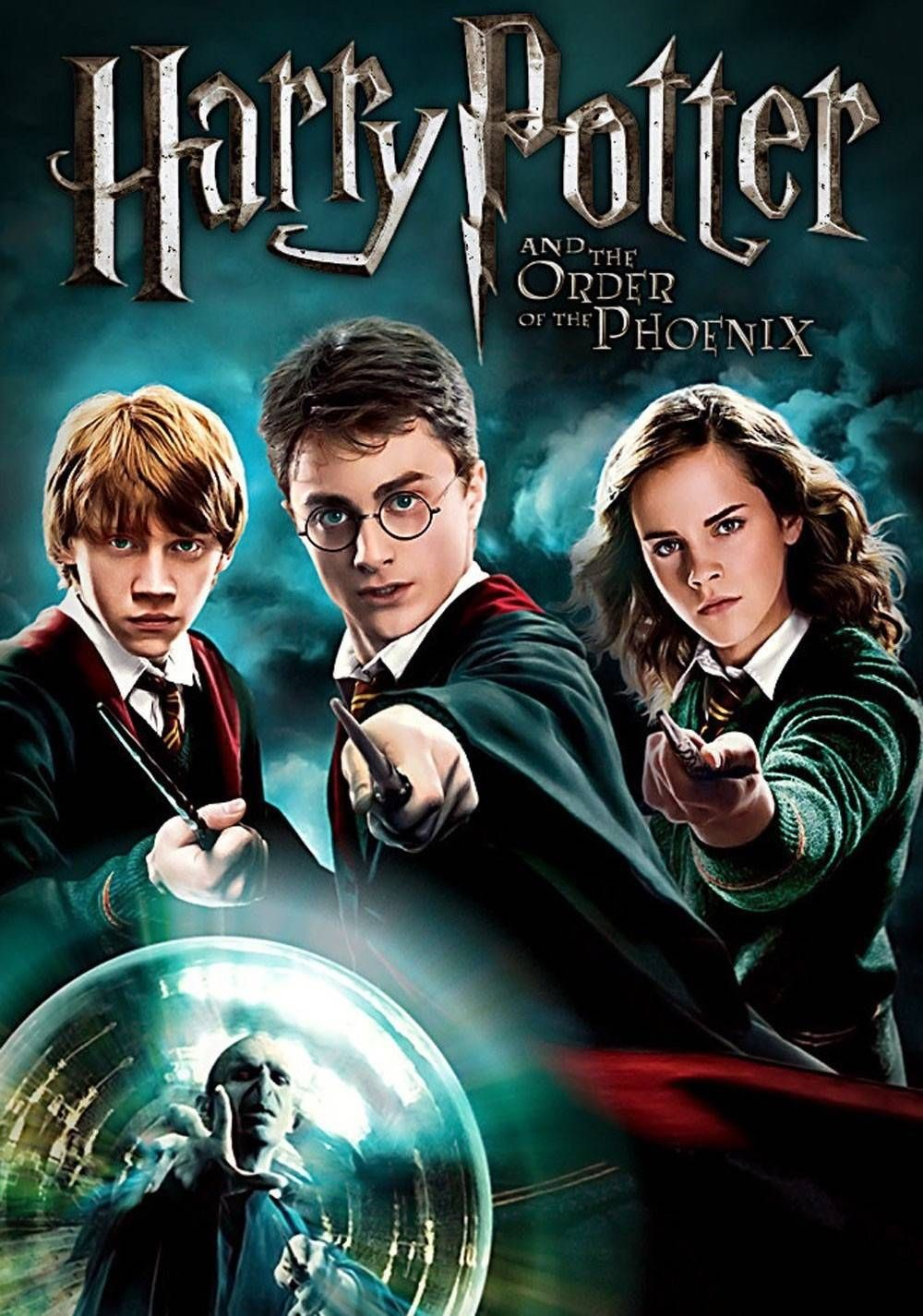 Harry Potter And The Order Of The Phoenix 2007 Harry Potter Order Harry Potter 5 Harry Potter Movies
