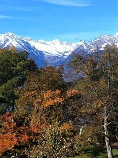 Southern Alps in Autumn.