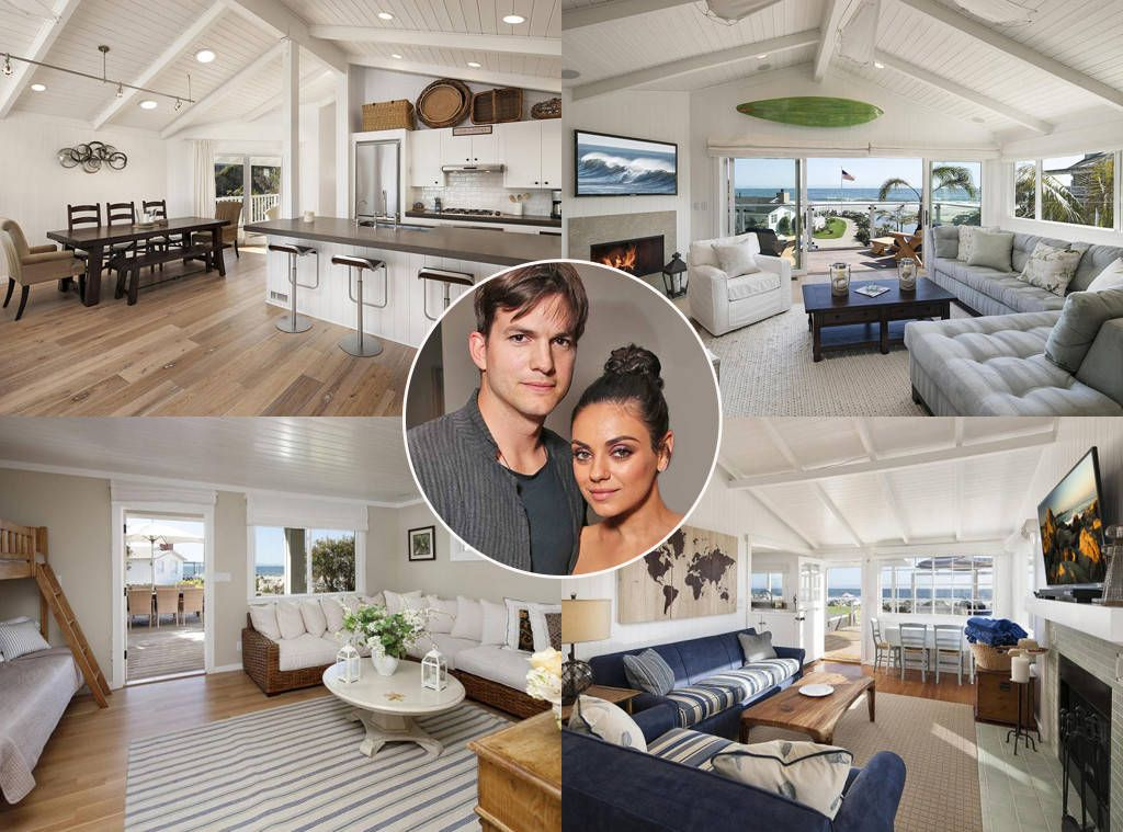 Inside Mila Kunis and Ashton Kutcheru0027s $10 Million Santa Barbara - Taxe D Habitation Appartement Meuble