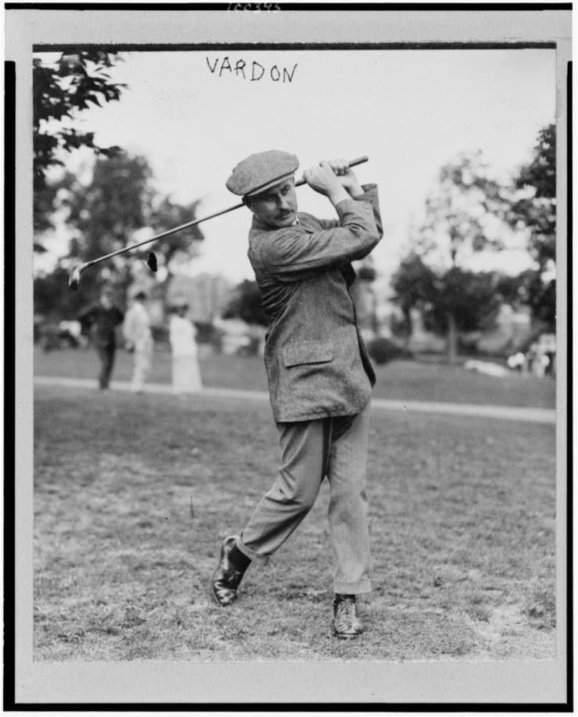 Harry Vardon Vintage golf, Golf swing, Golf