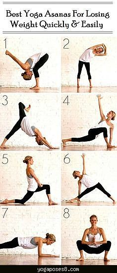 Best Yoga Poses For Fast Weight Loss