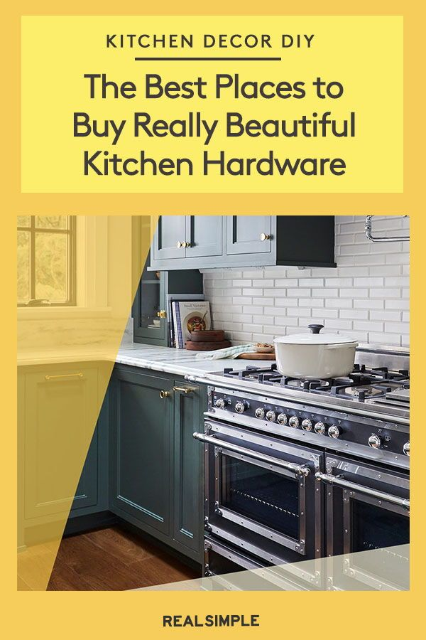 The Best Places To Buy Really Beautiful Kitchen Hardware With