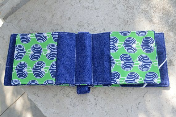 Knitting Needle Organizer by saffronbags on Etsy