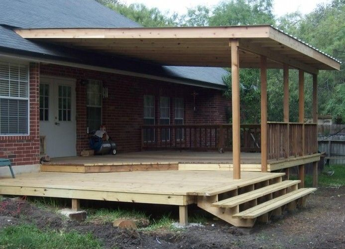covered deck and patio designs