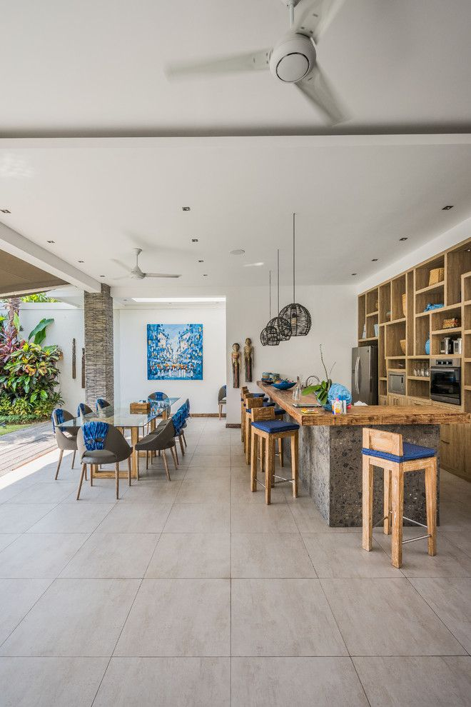 Tropical Kitchen Decor: 16 Cool Tropical Kitchen Designs For Your Summer Villa