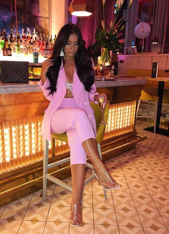 5ae874ee51e9 Pin by Angelina j on luxury | Fashion, Depop, Pink suit