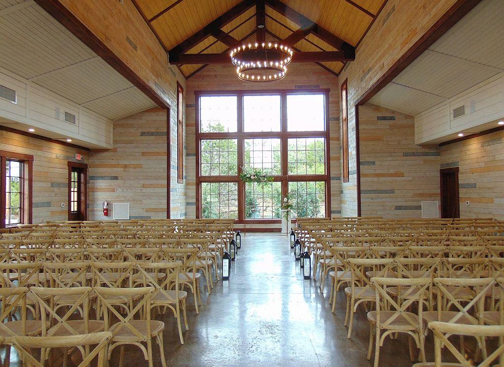 Saddle Creek Weddings Indoor Ceremony Barn Dripping
