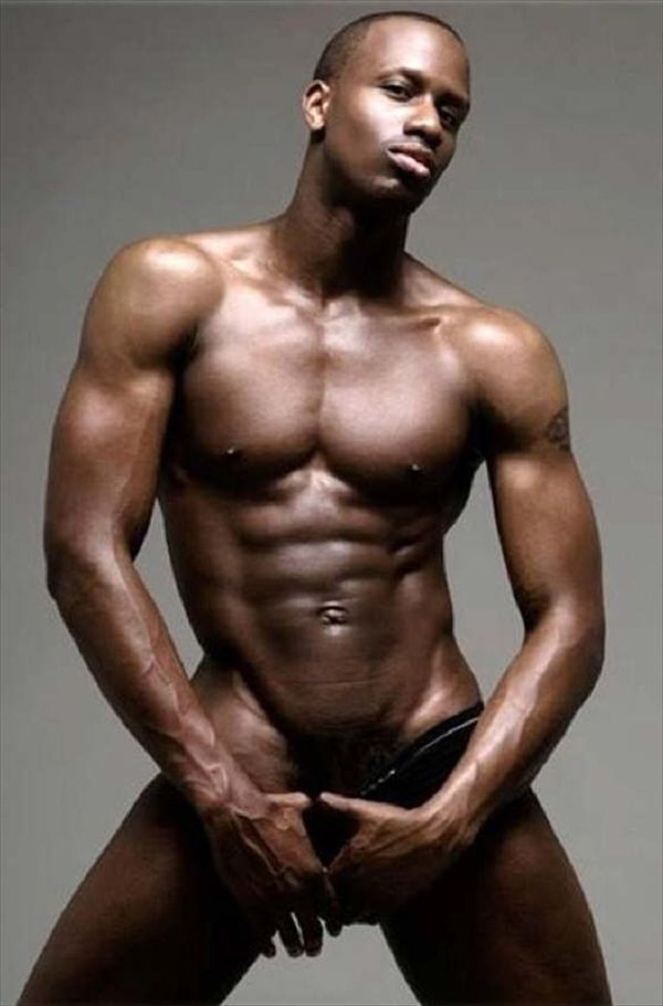 sexy black man face