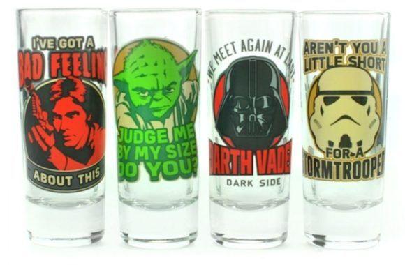 Star Wars Shot Glasses Shot Glass Set Shot Glass Classic Quotes