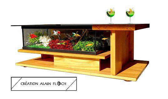 Table Basse Aquarium Amazone Supreme Table Basse Aquarium