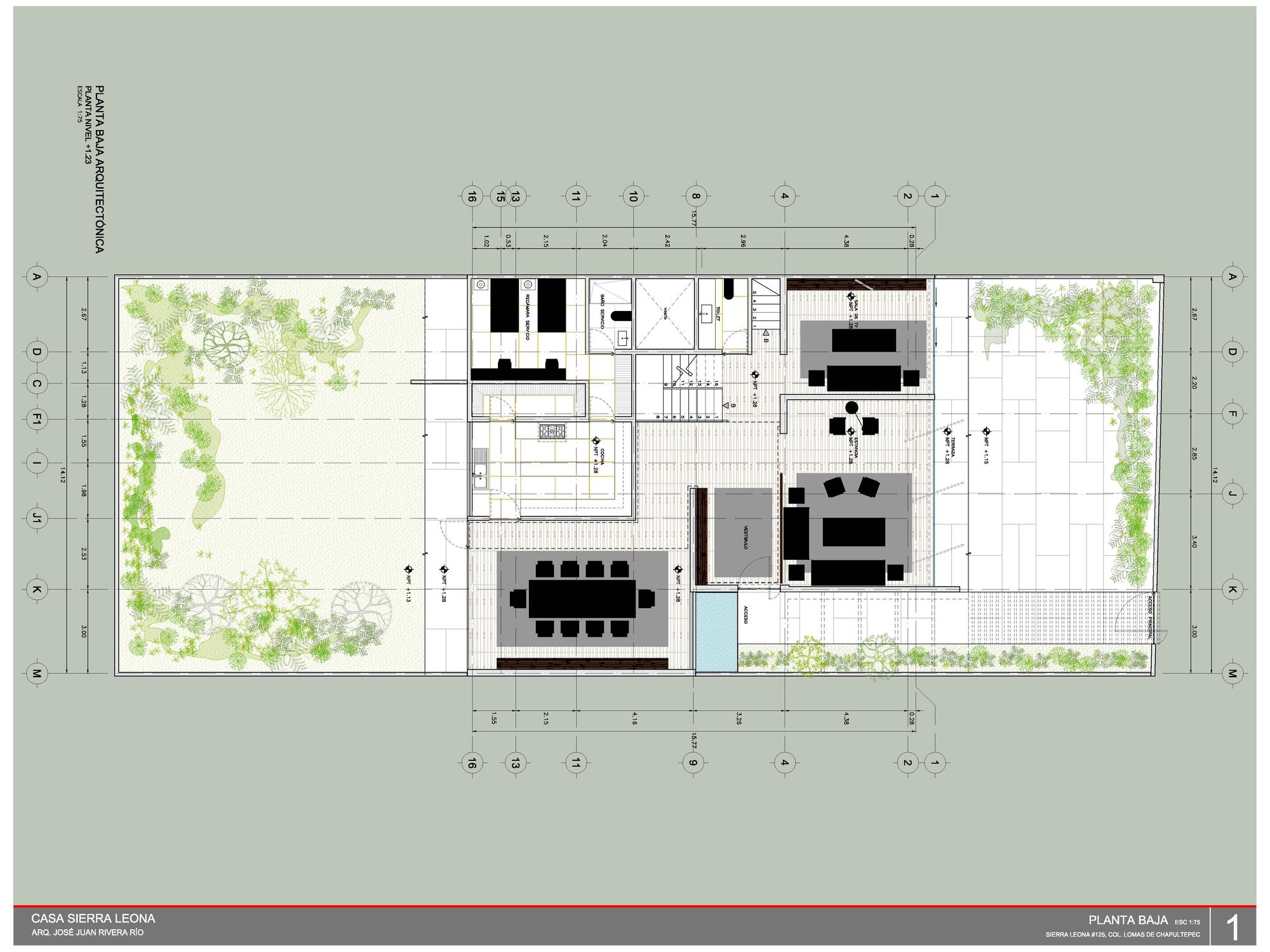 Dise o construcci n y planos de casa cuadrada moderna for Diseno y construccion de casas