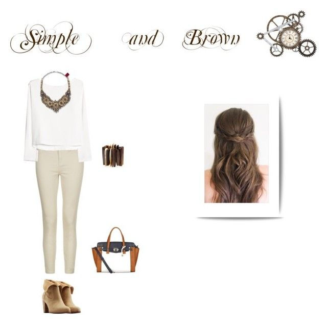 """Simple"" by margarida-11-reis on Polyvore"