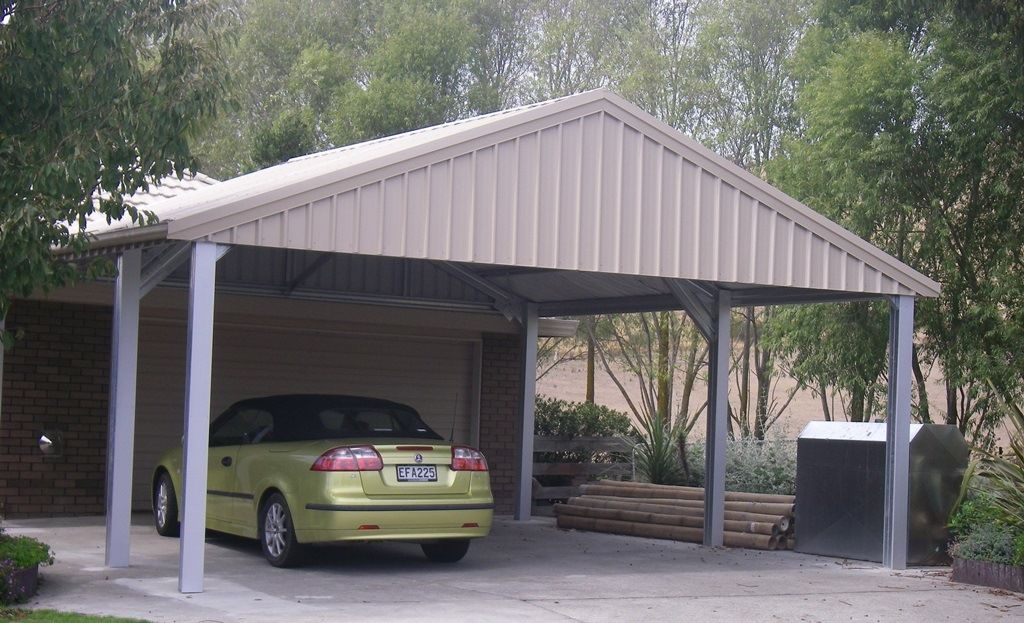 Carports Specialised Structures Carport, Pitched roof