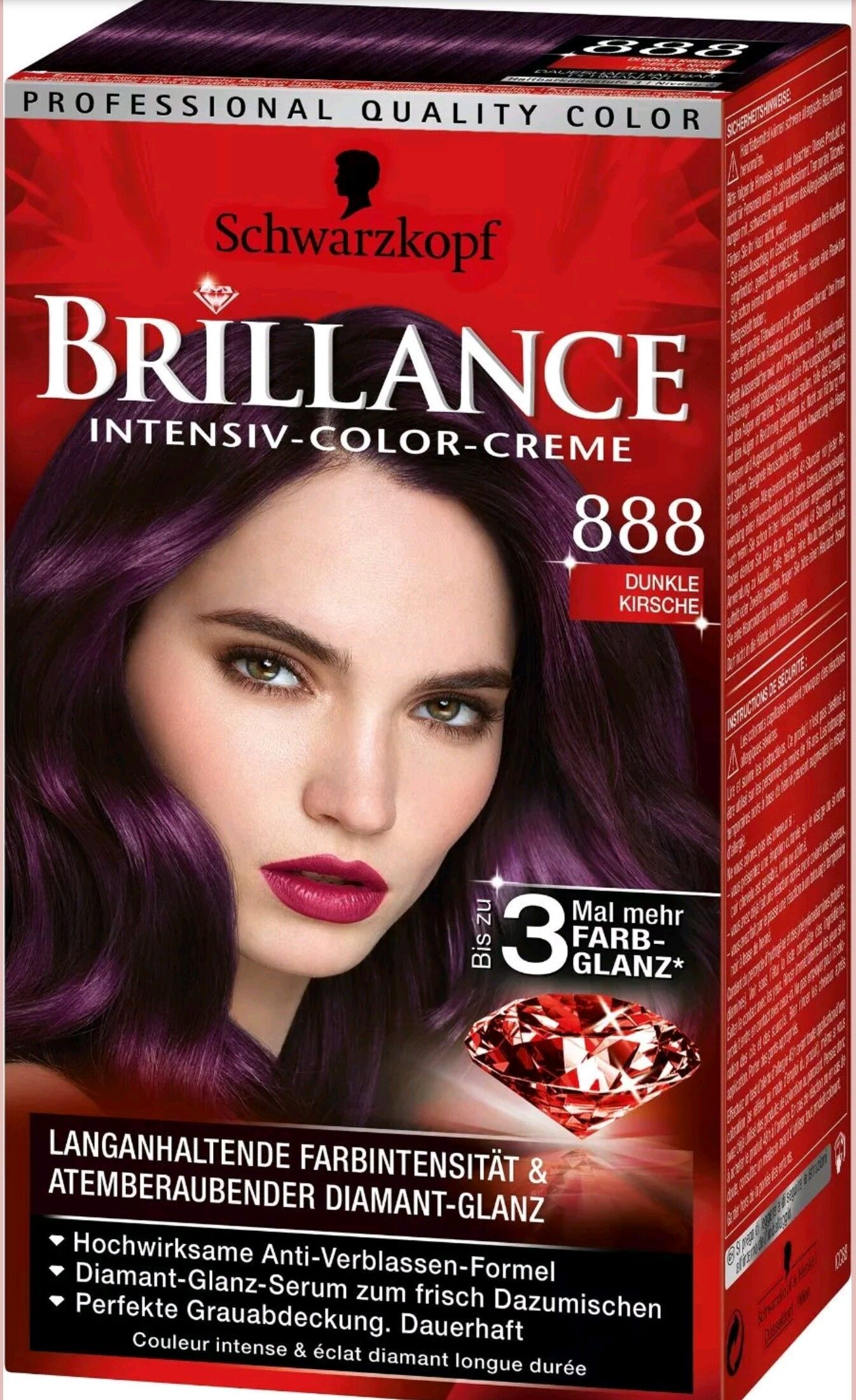 Operation Purple Hair Stage 2 Yes I Ordered One Of The Colors From Germany Trying This Out In J Schwarzkopf Hair Color Schwarzkopf Vintage Hair Accessories