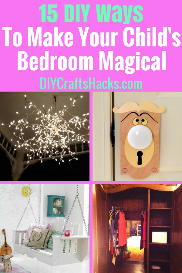 15 DIY Ways to Make Your Child's Bedroom Magical images