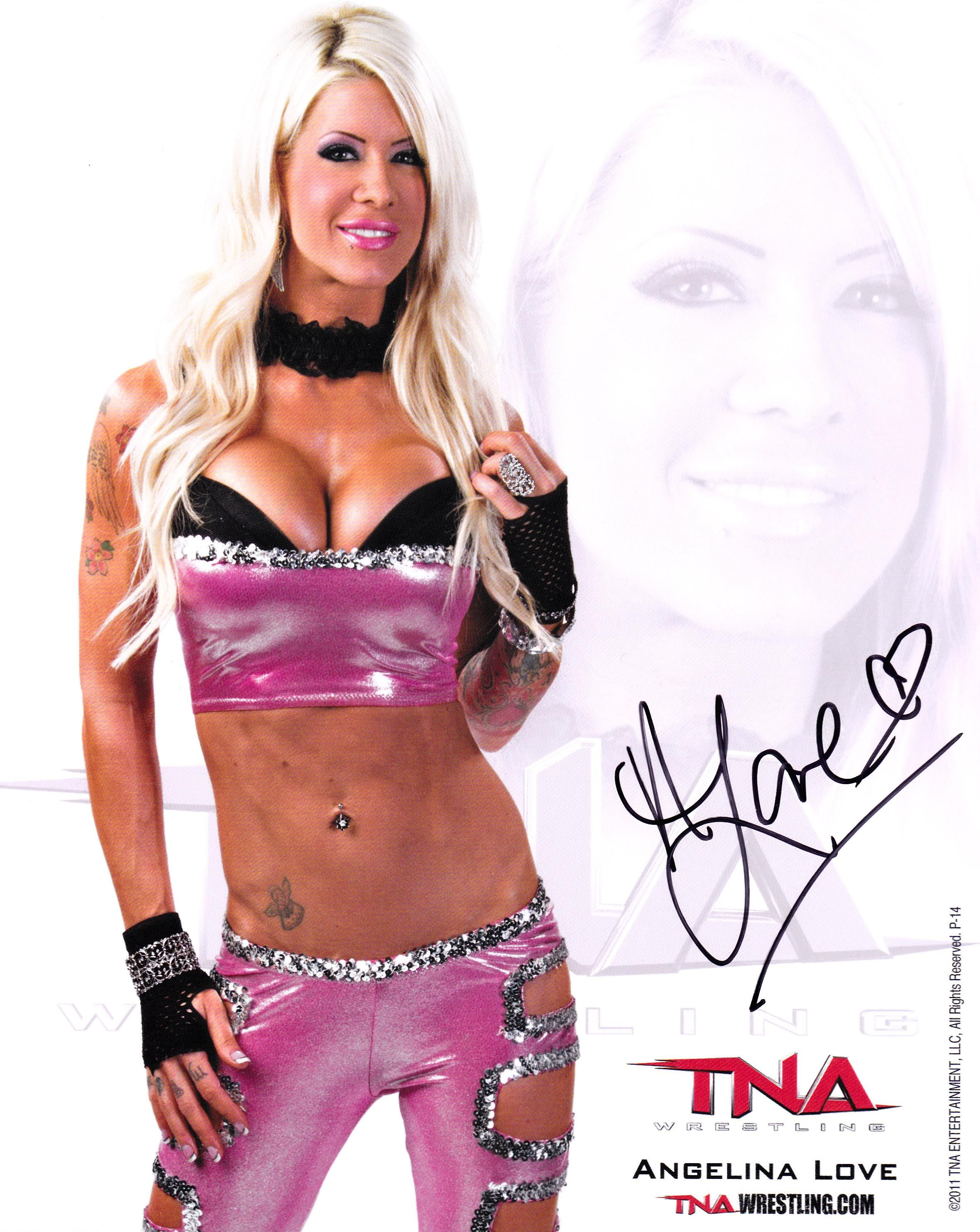 The best: who is angelina love dating 2013