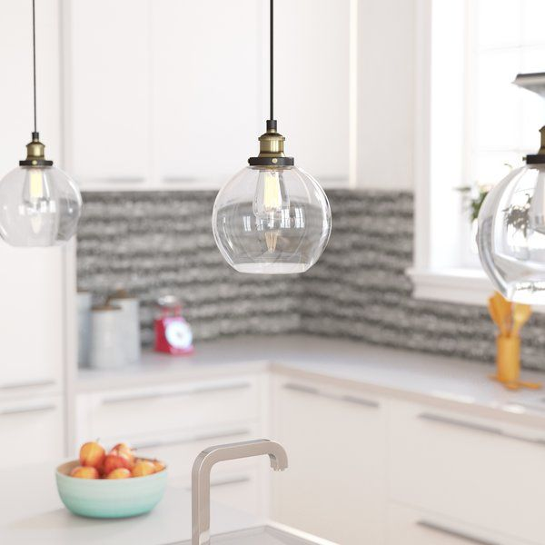 Bundy 1 light led bowl pendant pendant lighting corner and lights mozeypictures Choice Image