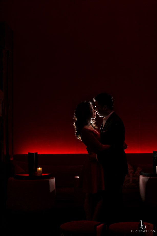 Fancy Engagement shoot in Hotel W, Austin,TX by Blanca Duran Photography