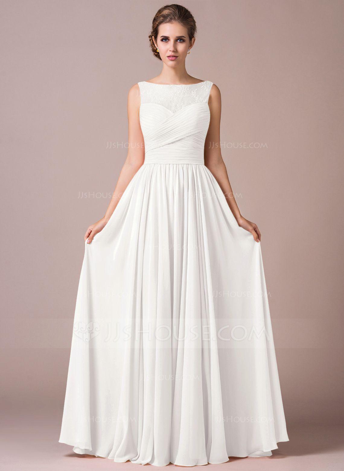 Wedding dresses springfield mo  Chiffon Lace ALine Floorlength Bridesmaid Dress  Lace bridesmaids