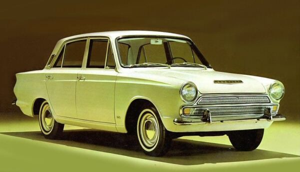 "Ford Cortina ""The Archbishop"""